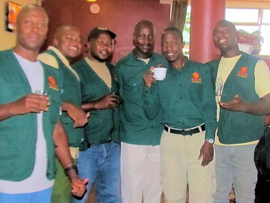 Our safari guides.