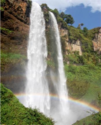 Sipi falls..