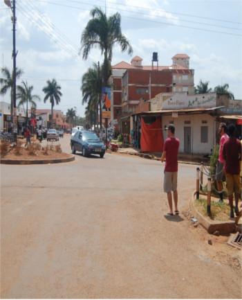 today you can visit a very peaceful Gulu town..
