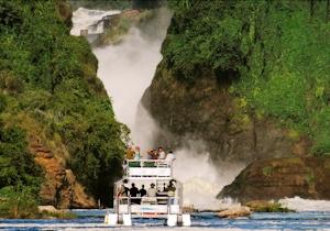 murchison falls cruise uganda