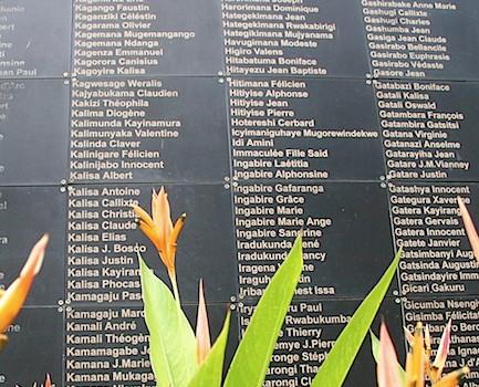 The Rwanda genocide memorial