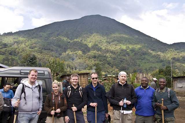 gorilla trekking safari group