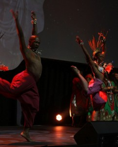Entertainers at the openin ceremony Indaba 2014