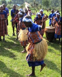 Bakiga cultural dance