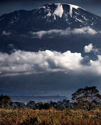 Mt. Kilimanjaro one of the attractions Chinese tourists are eager to see..