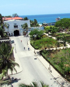 A view of Stone Town....