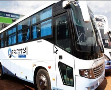 Rwanda's Trinity express bus services