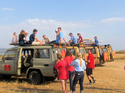 Our safari vehicles